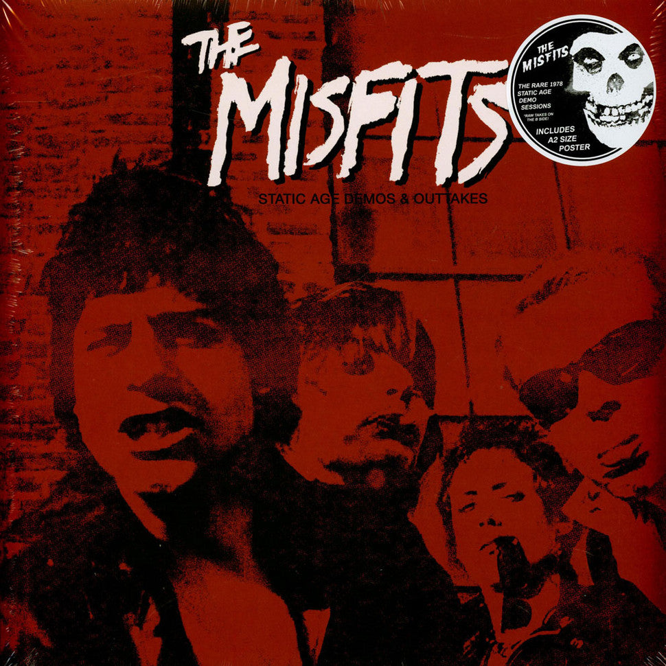 The Misfits - Static Age Demos & Outtakes Vinyl Record Album + Poster