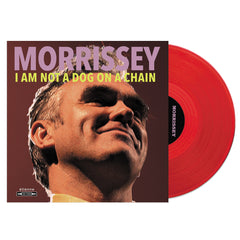 Morrissey ‎– I Am Not A Dog On A Chain Limited Edition Red Colour Vinyl Record Album