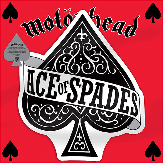 "Motörhead - Ace Of Spades (RSD 2020 Drop One) 12"" Shaped Picture Disc Record"