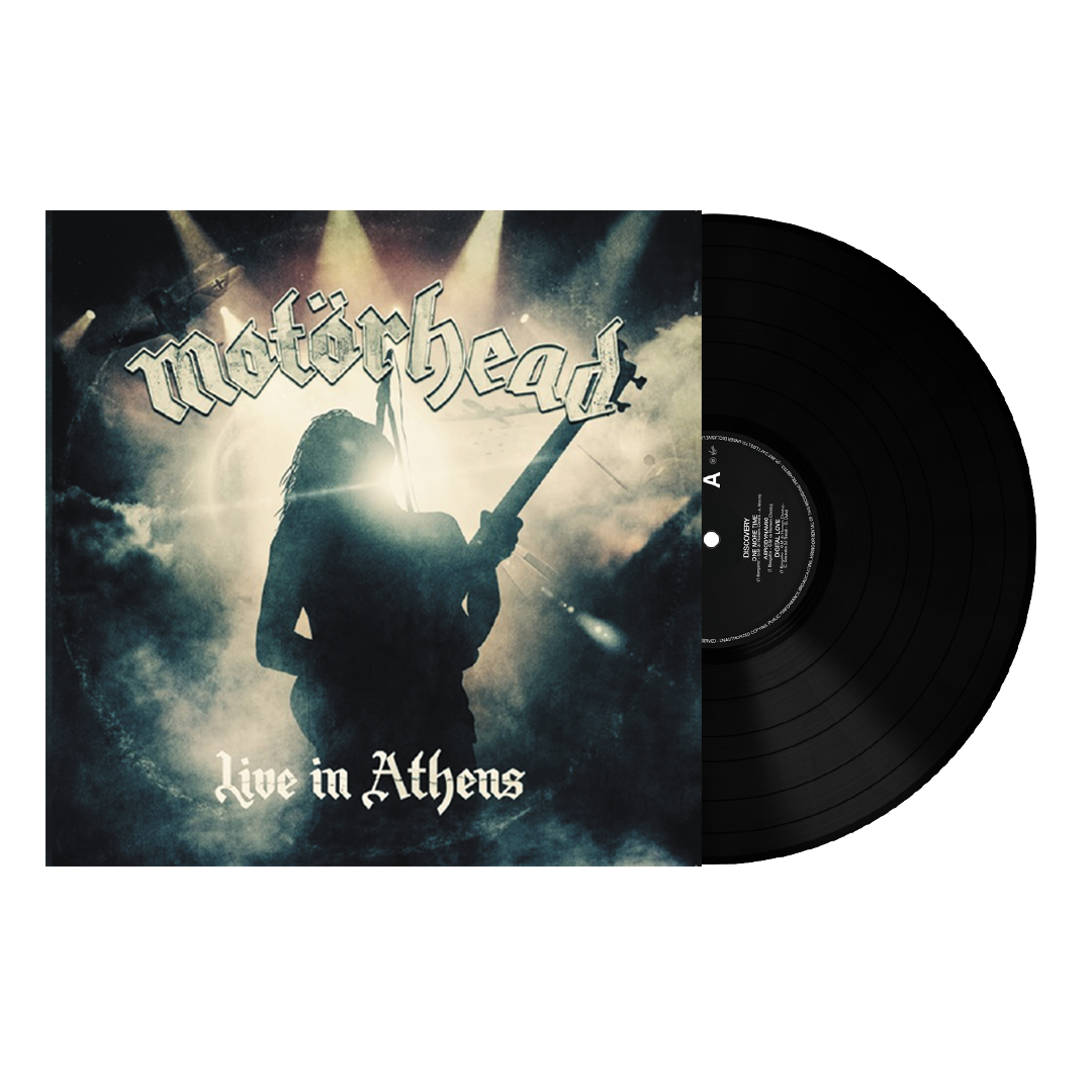"Motörhead ‎– Live In Athens 7"" Reissue Vinyl Record"