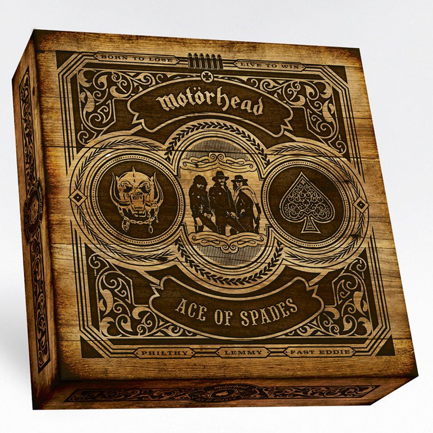 Motörhead - Ace Of Spades (40th Anniversary) Deluxe Box Set