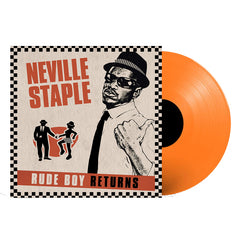 Neville Staple ‎– The Rude Boy Returns Orange Colour Vinyl Record Album