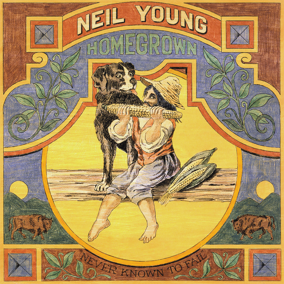 Neil Young - Homegrown RSD Stores Exclusive Vinyl Record Album + Litho Print