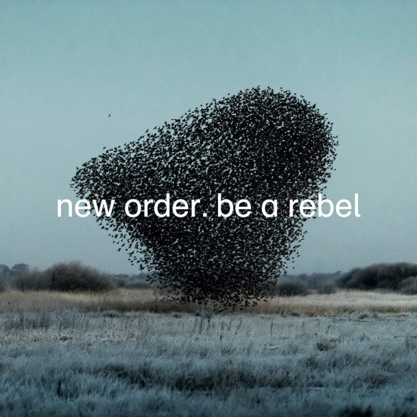 "New Order - Be A Rebel Dove Grey Colour 12"" Vinyl Record"