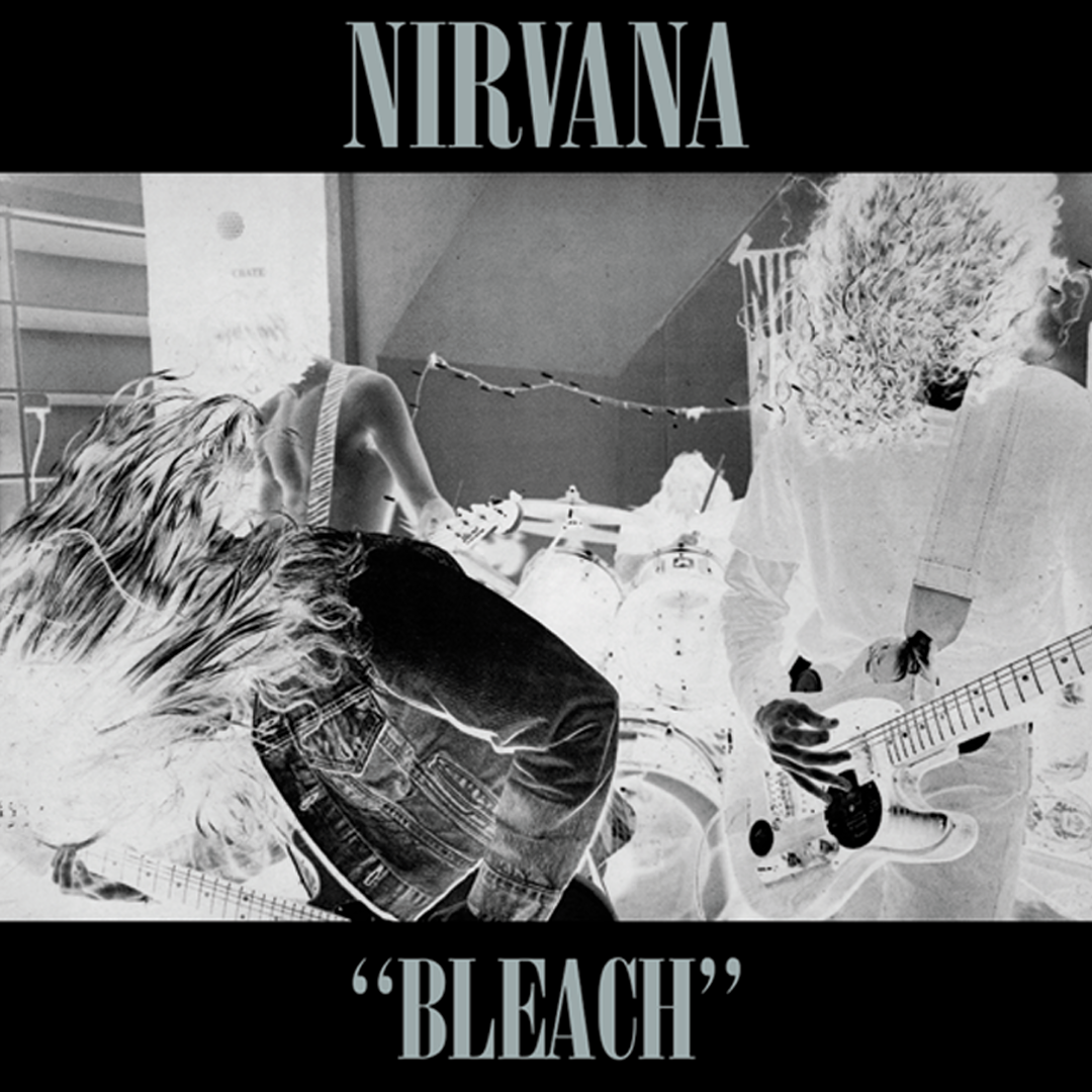 Nirvana - Bleach LRS Limited Edition Neon Yellow Vinyl Record Album