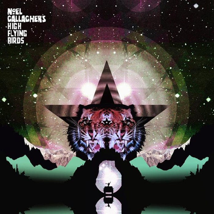 Noel Gallagher's High Flying Birds - Black Star Dancing Pink Colour EP Vinyl Record