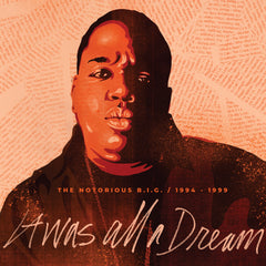 Notorious BIG - It Was All A Dream (RSD 2020 Drop Two) 9xLP 180g Clear Colour Vinyl Record Box Set