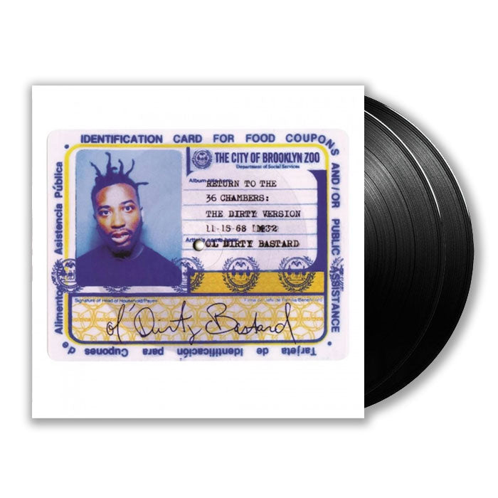 Ol' Dirty Bastard - Return To The 36 Chambers 2LP Vinyl Record Album, Pre-order, X-Records
