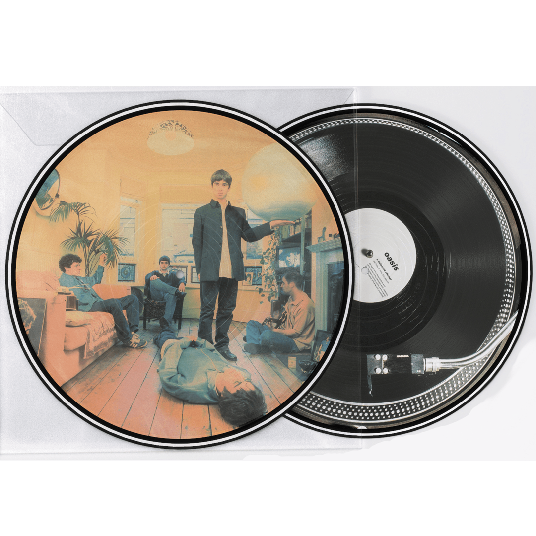 Oasis - Definitely Maybe LRS Limited Edition 2LP Picture Disc Vinyl Record Album