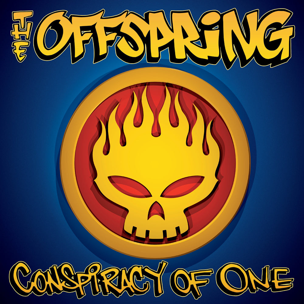 The Offspring – Conspiracy Of One Anniversary Deluxe Edition 2LP Splatter Vinyl Record Album