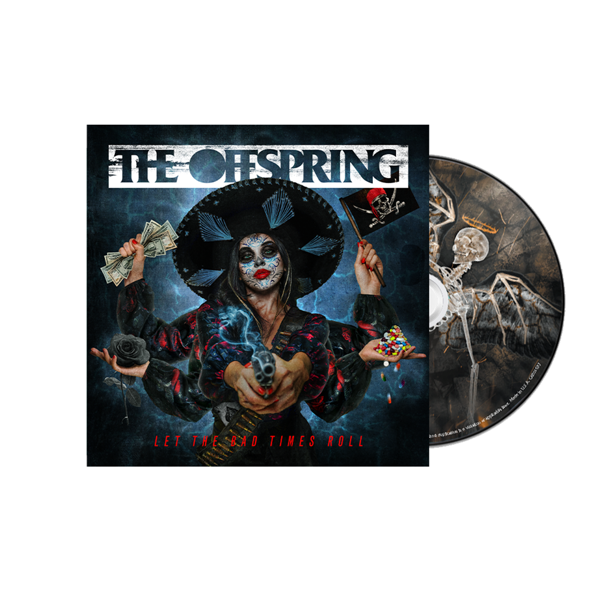The Offspring	Let The Bad Times Roll CD Album