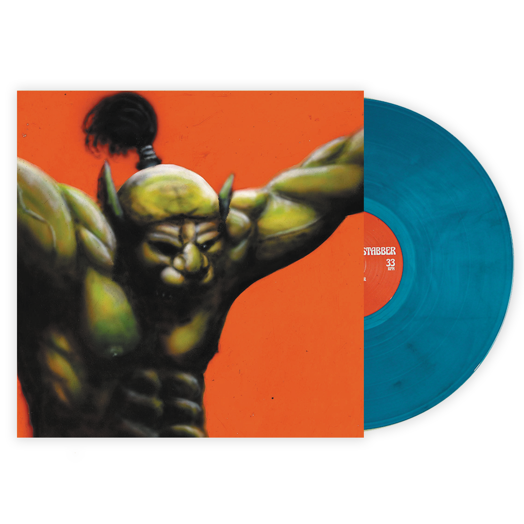 Oh Sees - Face Stabber LRS Limited Blue Nebula Galaxy Colour Vinyl Record