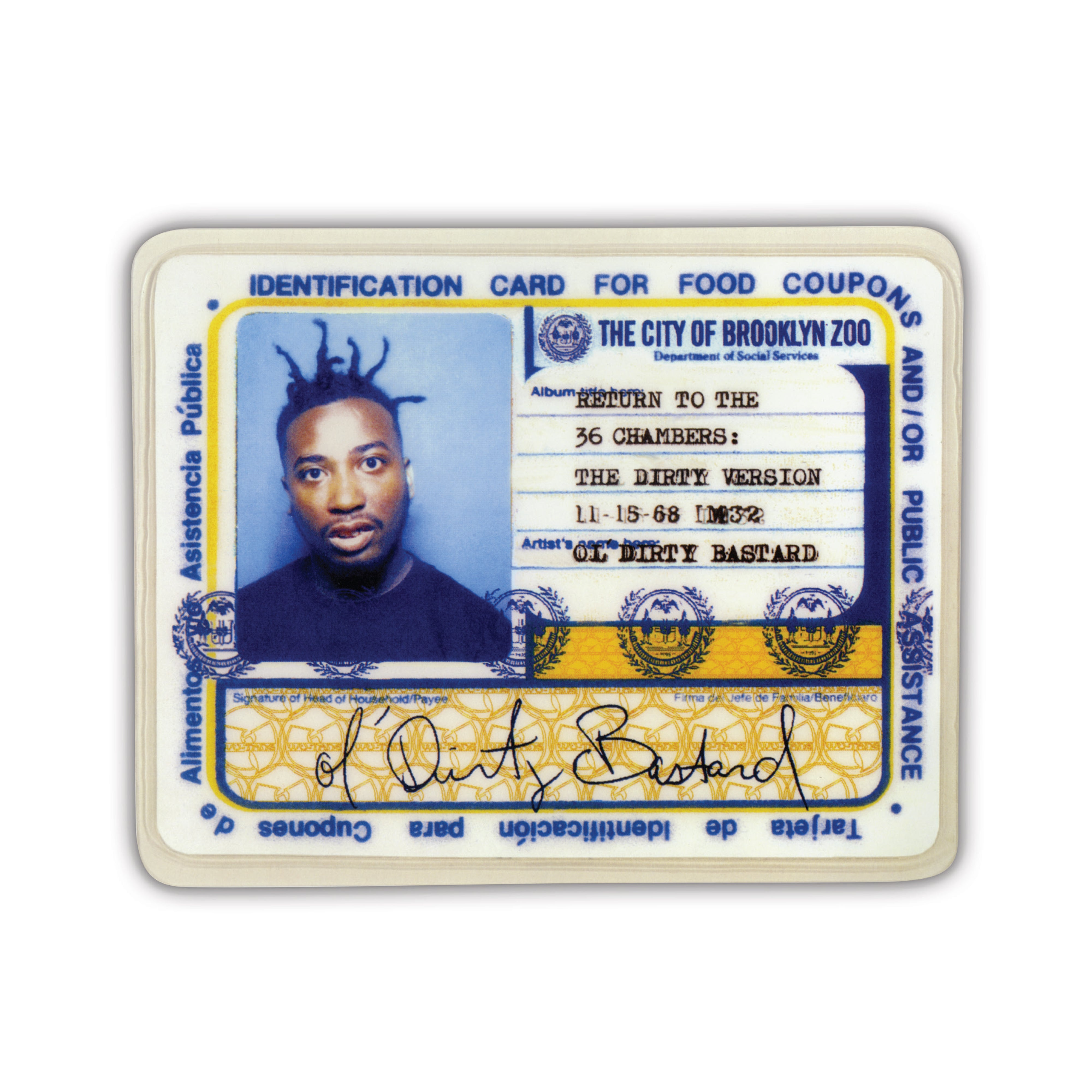"Ol' Dirty Bastard - Return To The 36 Chambers: The Dirty Version (25th Anniversary Edition) (RSD 2020 Drop Two) 9x7"" Colour Vinyl Box Set"
