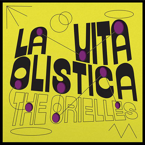 The Orielles - La Vita Ollistica (Love Record Stores) Limited Edition Colour Vinyl Record Album