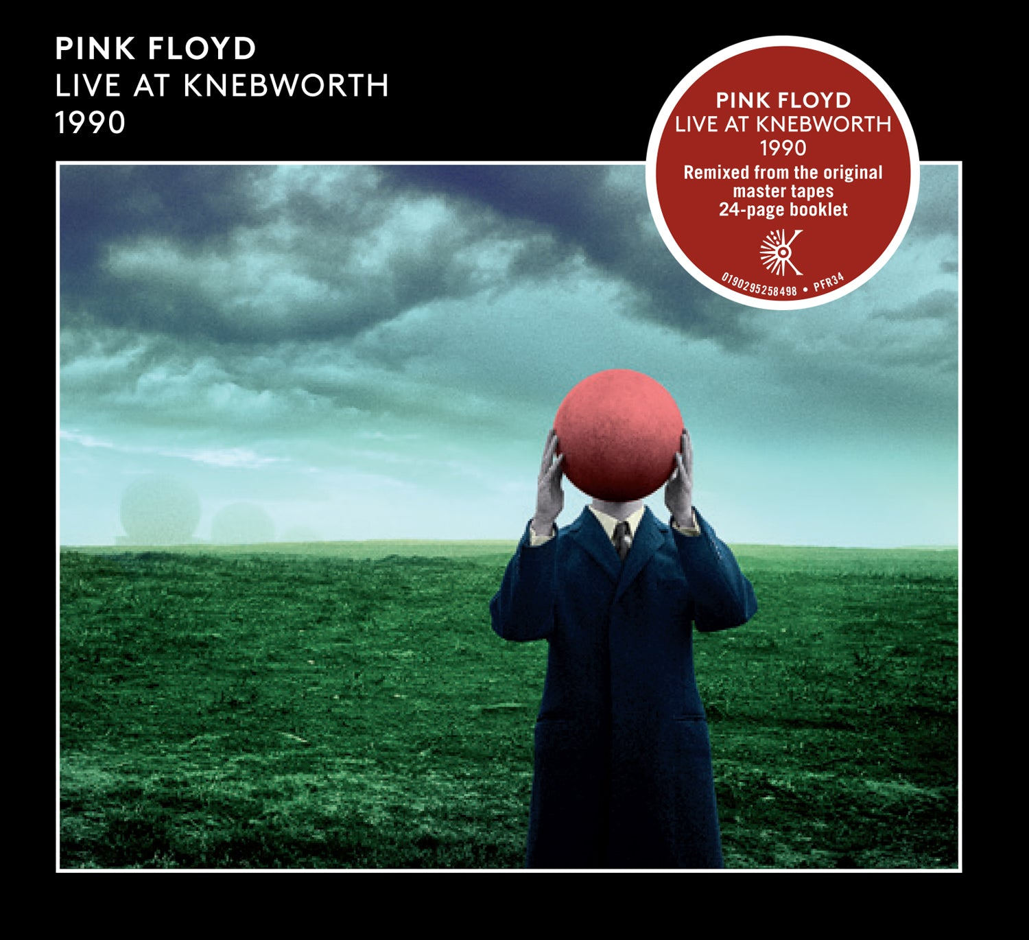 Pink Floyd - Live At Knebworth 1990 2CD Album