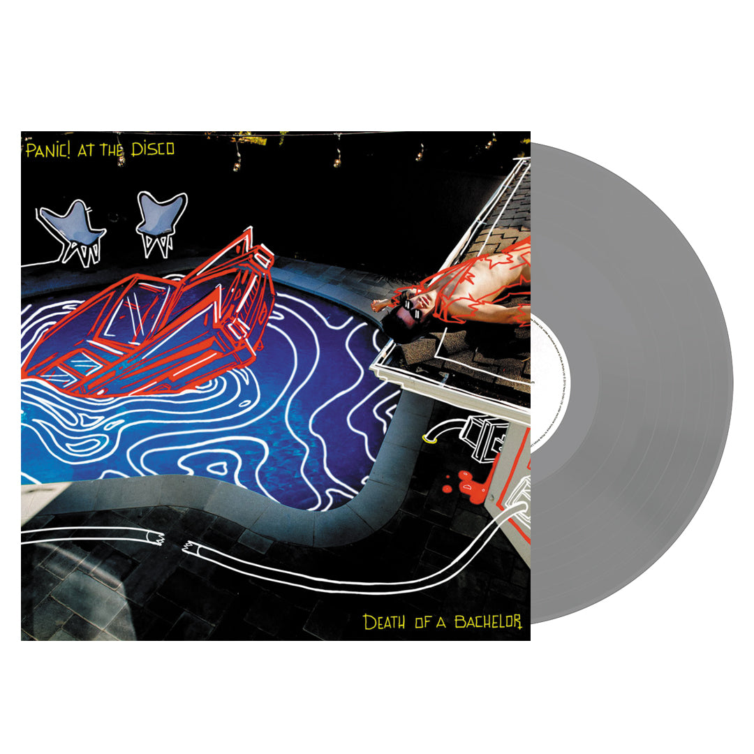 Panic! At The Disco - Death Of A Bachelor Silver Colour Vinyl Record Album