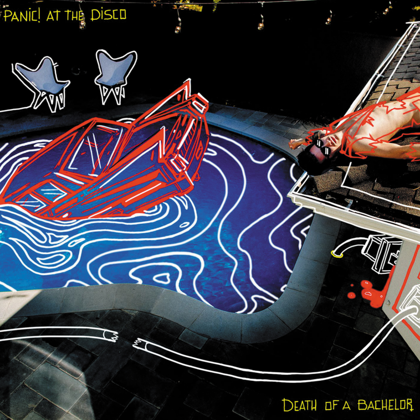 Panic! At The Disco ‎– Death Of A Bachelor Vinyl Record Album