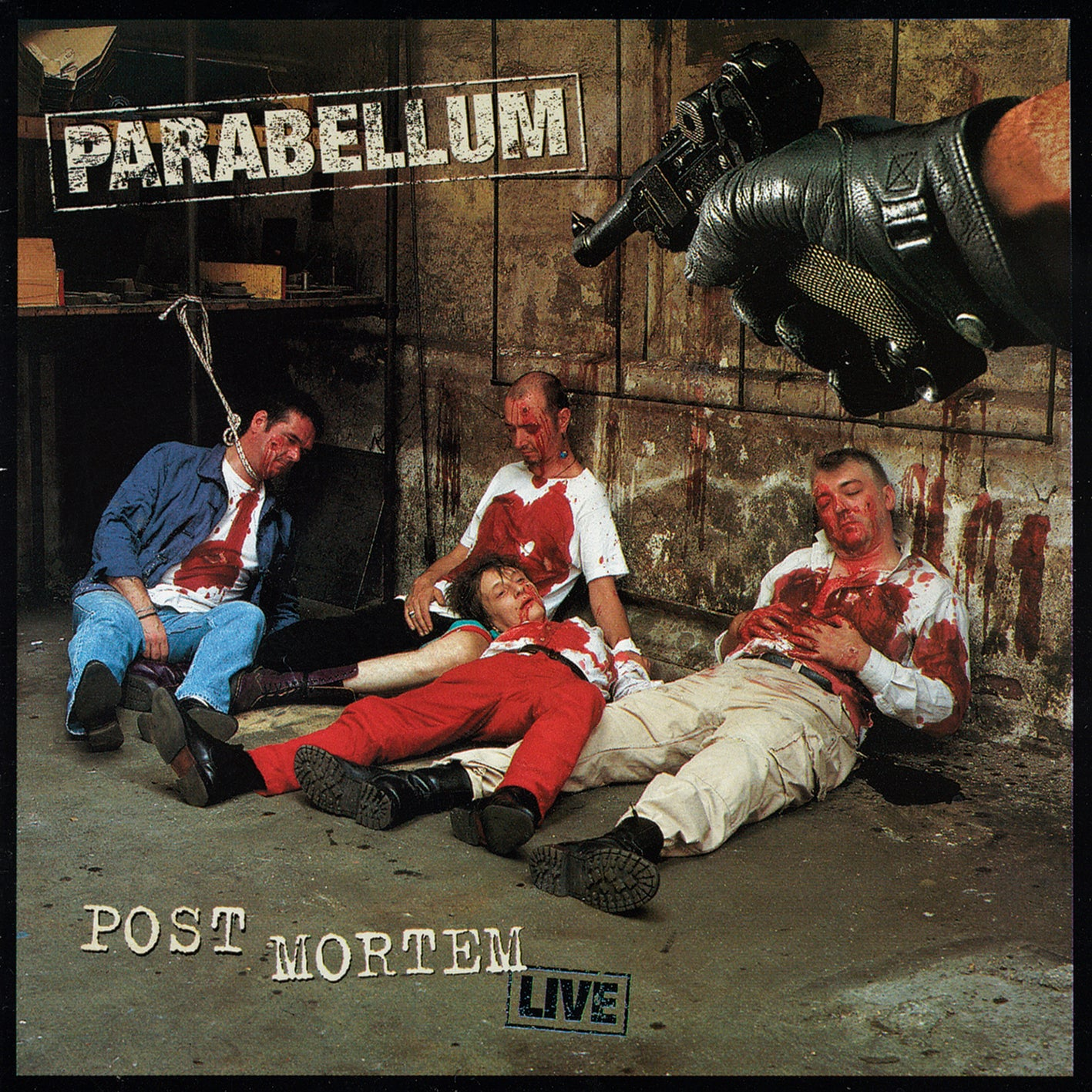 Parabellum - Post Mortem Live (RSD 2020 Drop Three) Red & Black Splatter Colour Vinyl Record Album