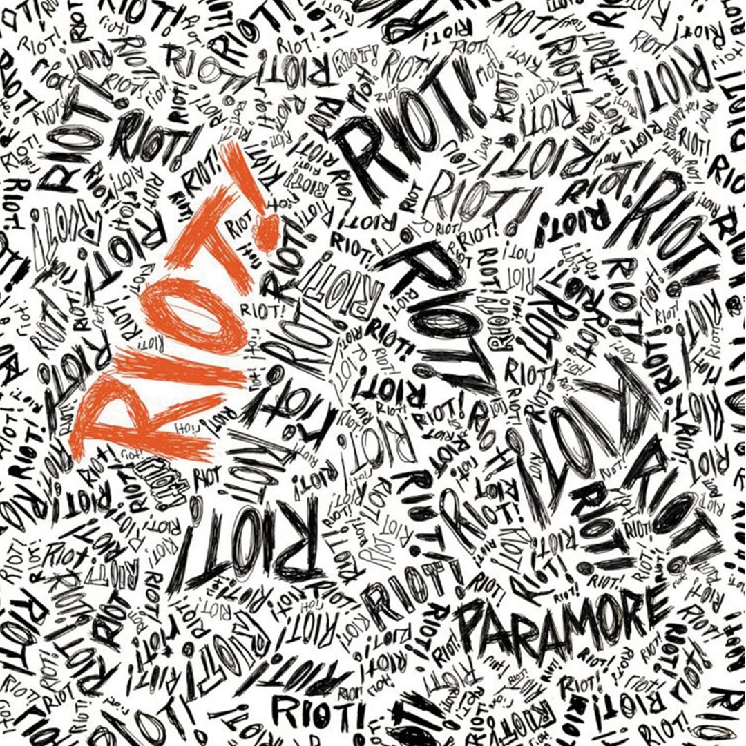 Paramore - Riot! Limited Edition Anniversary Silver Colour Vinyl Record Album
