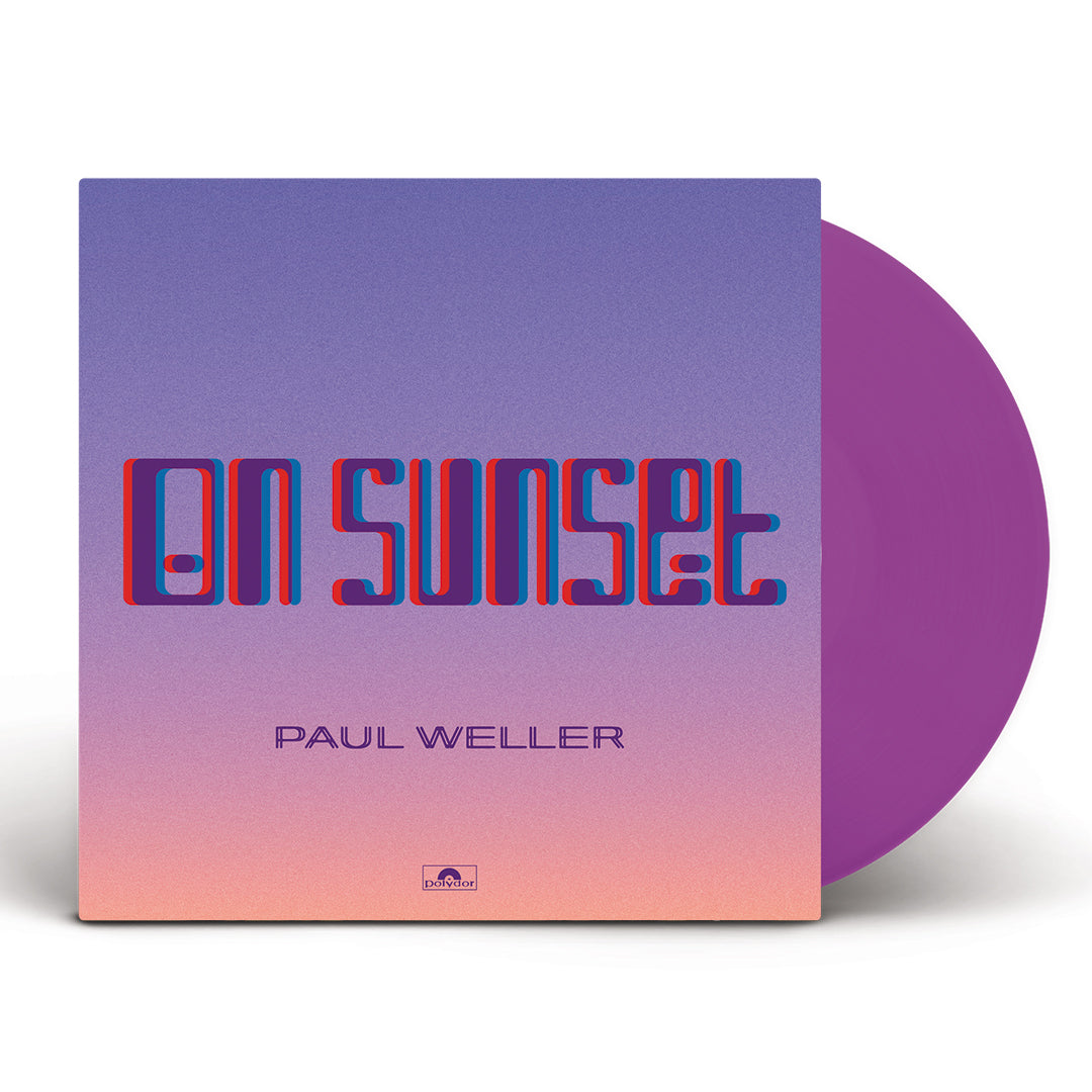 Paul Weller - On Sunset Limited Edition 2LP Purple Colour Vinyl Record Album