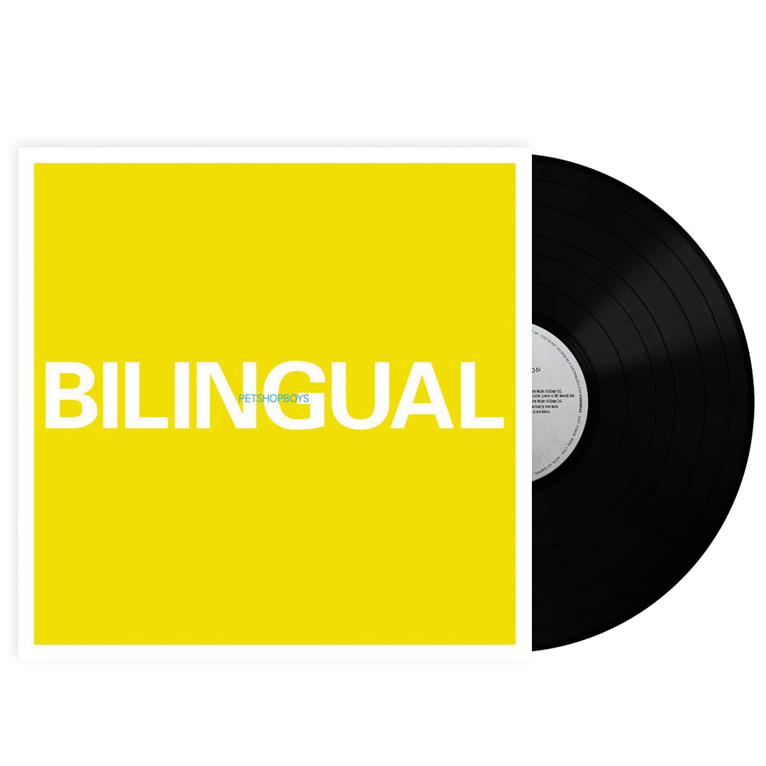 Pet Shop Boys - Bilingual 180g Vinyl Record Album