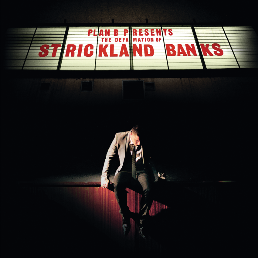 Plan B - The Defamation Of Strickland Banks (National Album Day) 2LP Ox Blood Colour Vinyl Record Album