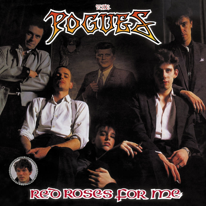 The Pogues ‎– Red Roses For Me Vinyl Record Album