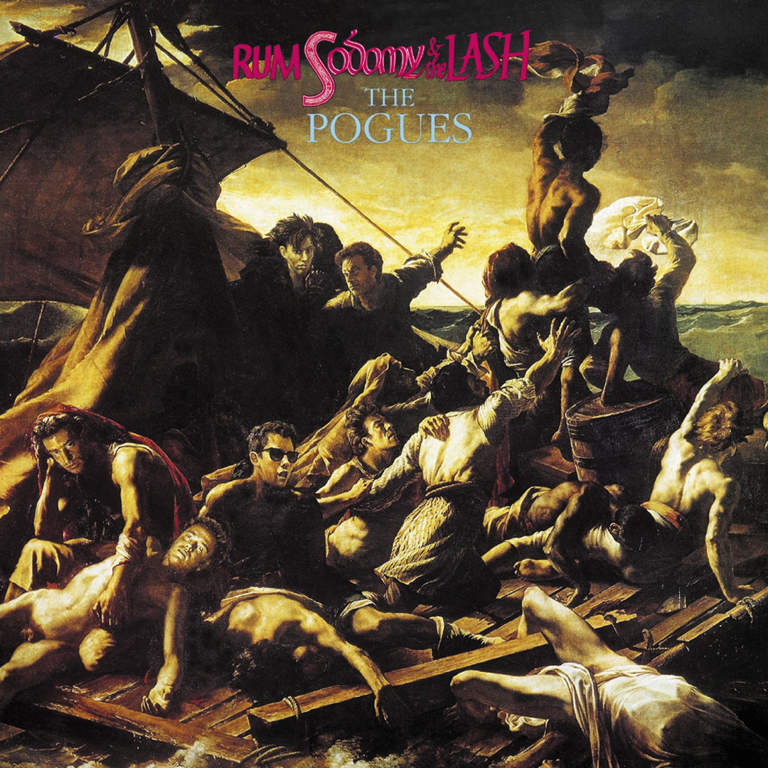 The Pogues ‎– Rum Sodomy & The Lash Red Colour Vinyl Record Album
