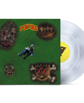 Pom Poko ‎– Cheater Limited Edition Die Cut Sleeve 140g Clear Vinyl Record Album