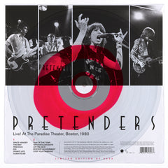 Pretenders - Live! At The Paradise Theater, Boston 1980 (RSD 2020 Drop One) 140g Red Colour Vinyl Record Album