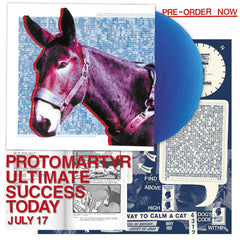 Protomartyr - Ultimate Success Today Limited Edition Transparent Blue Colour Vinyl Record