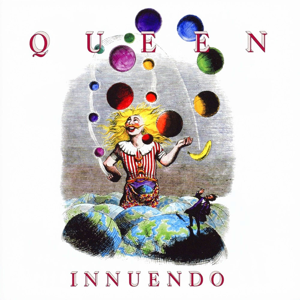 Queen ‎– Innuendo Half Speed Master 2LP 180g Vinyl Record Album