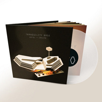"Arctic Monkeys ‎– Tranquility Base Hotel + Casino 12"" Clear Colour Vinyl Record"