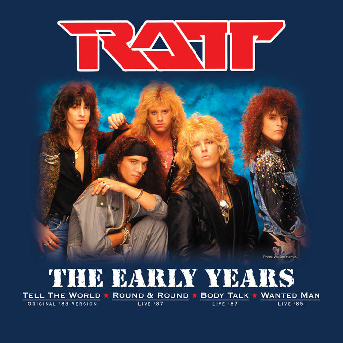Ratt ‎– The Early Years Limited Edition Blue Colour Vinyl Record Album