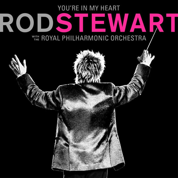 Rod Stewart - You're in My Heart: Rod Stewart with the Royal Philharmonic Orchestra 2LP Pink Colour Vinyl Record
