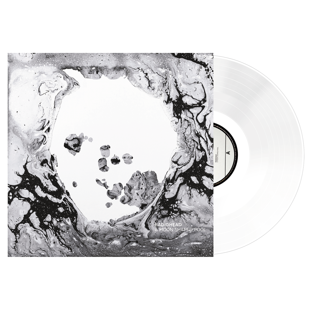 Radiohead - A Moon Shaped Pool LRS Limited Edition White Colour Vinyl Record Album