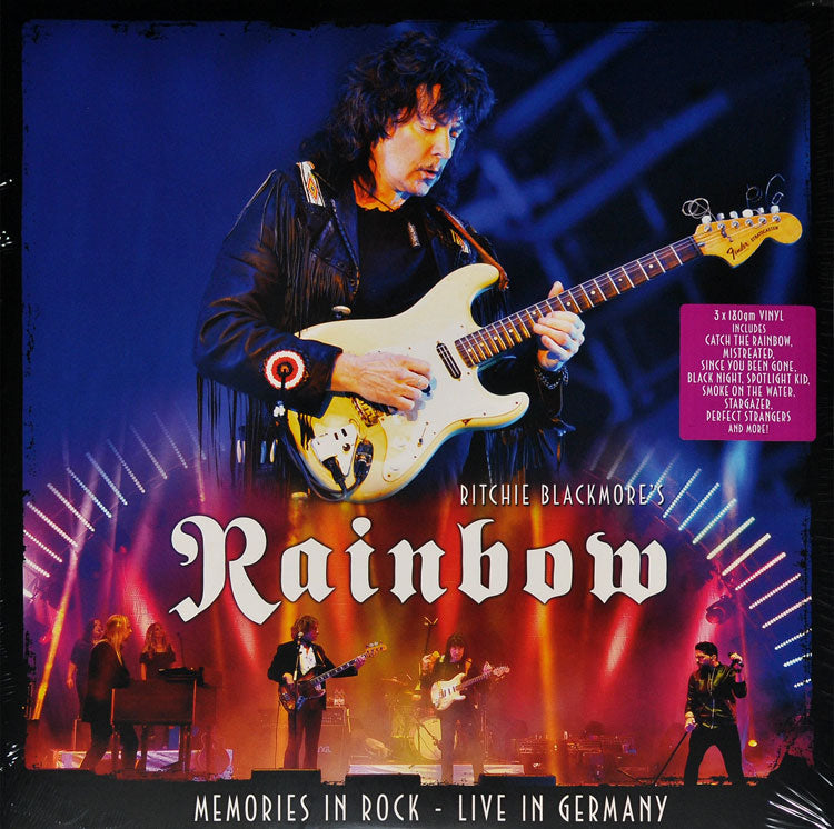 Ritchie Blackmore's Rainbow - Memories In Rock Limited Edition 3LP Colour Vinyl Record Album