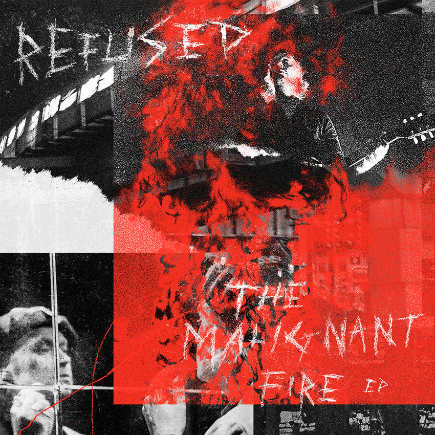 "Refused - The Malignant Fire EP  12"" Vinyl Record"