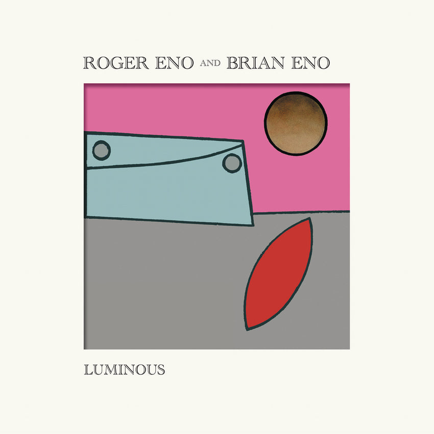 Roger Eno & Brain Eno - Luminous Limited Edition Sun Colour Vinyl Record Album