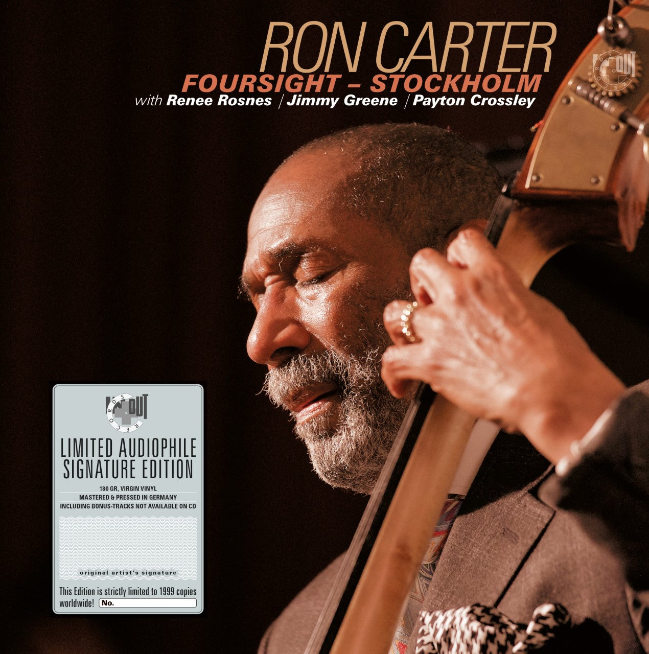 Ron Carter - Stockholm (RSD 2020 Drop One) 180g Virgin Signed Vinyl Record Album