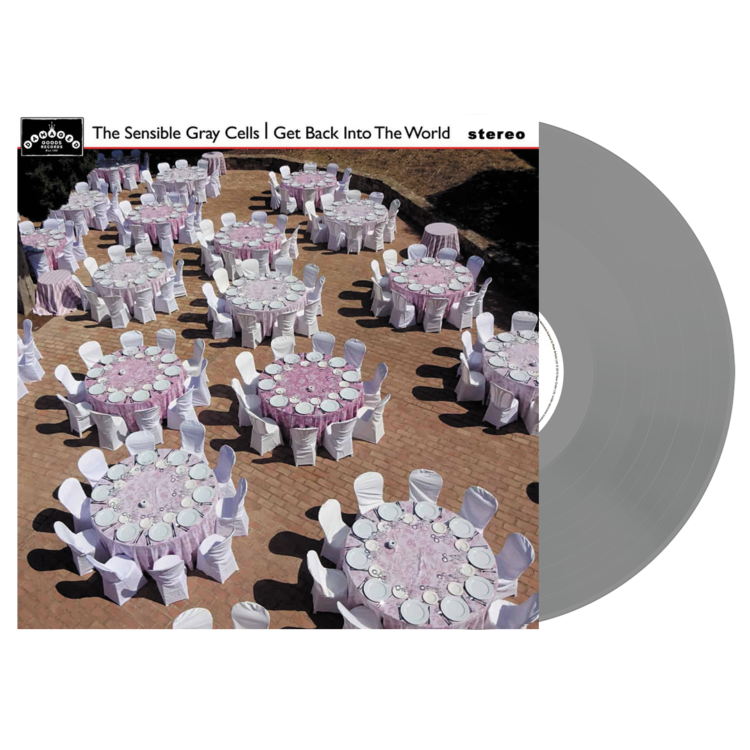 The Sensible Gray Cells - Get Back Into The World Limited Edition Gray Colour Vinyl Record Album