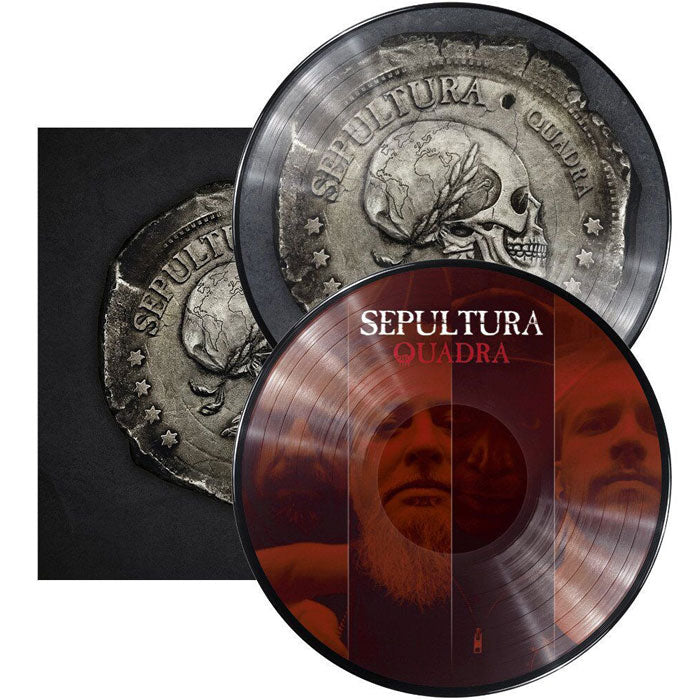 Sepultura	- Quadra 2LP Picture Disc Vinyl Record Album