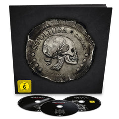 Sepultura	- Quadra Deluxe Blu-ray 2CD Earbook Album Box Set