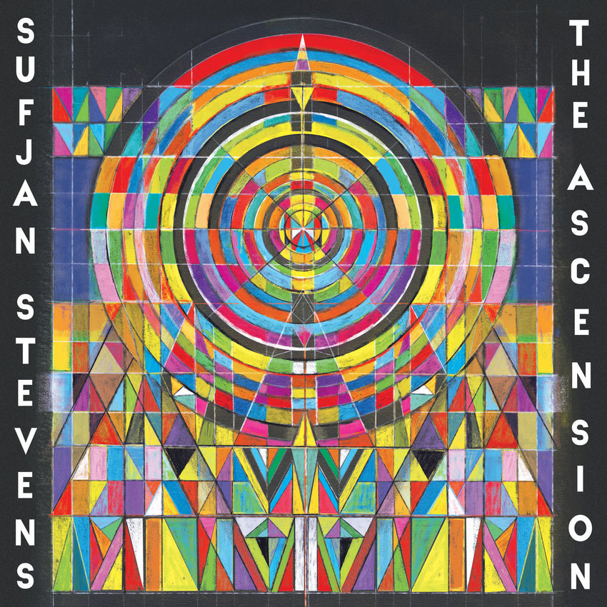 Sufjan Stevens - The Ascension Limited Edition 2LP Clear Colour Vinyl Record Album