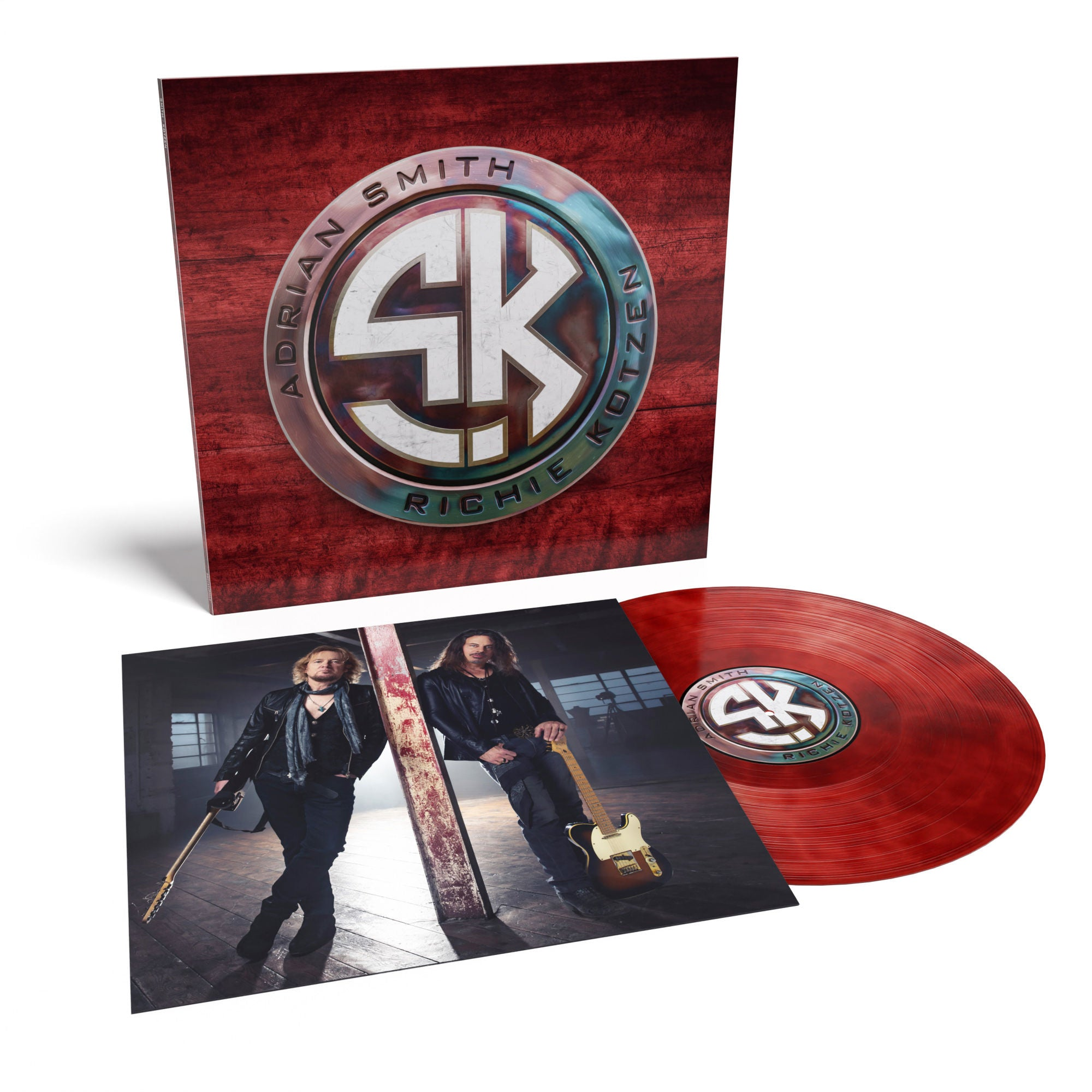 Smith / Kotzen - Smith Kotzen Limited Edition Red & Black Smoke Colour Vinyl Record Album