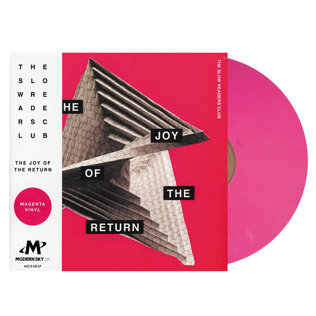 The Slow Readers Club ‎– The Joy Of The Return Limited Edition Magenta Colour Vinyl Record Album