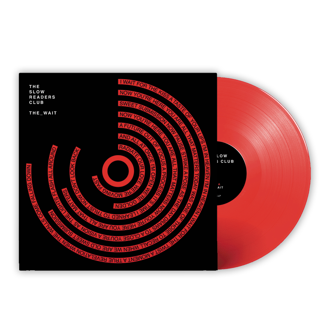 "The Slow Readers Club - The Wait LRS Limited Edition Red Colour 7"" Vinyl Record"