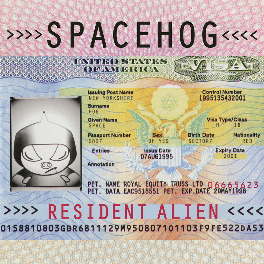 Spacehog - Resident Alien (RSD 2020 Drop One) 2LP Vinyl Record Album