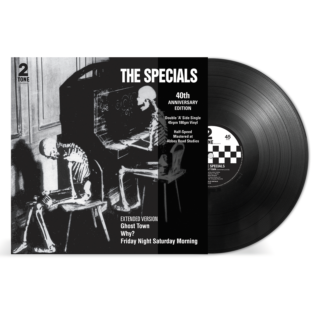 "The Specials - Ghost Town 40th Anniversary Half Speed Master 12"" Maxi Single Record"