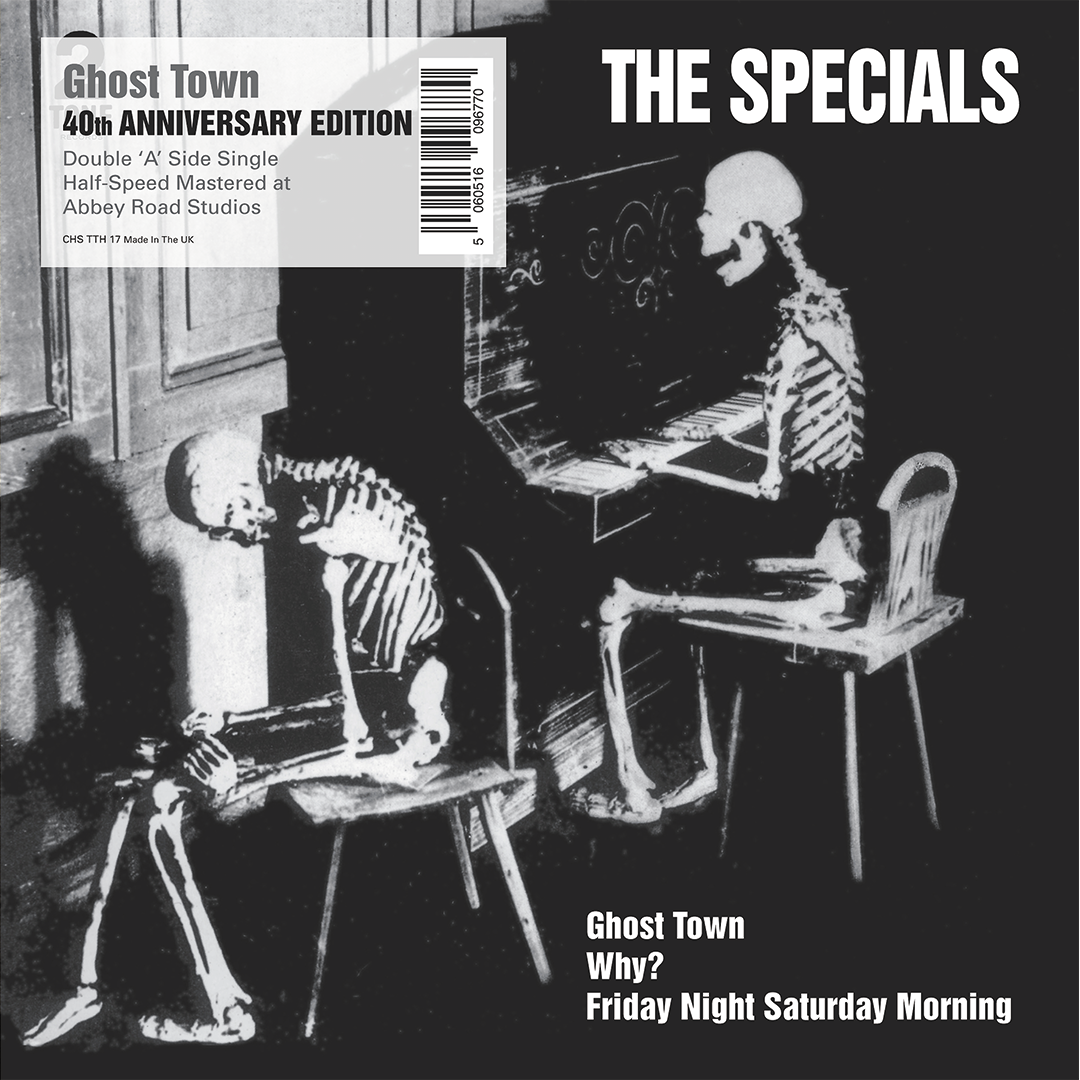 "The Specials - Ghost Town 40th Anniversary Half Speed Master 7"" Record Single"
